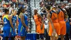 WNBA Connecticut Sun 107 vs Dallas Wings 74 (10)