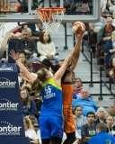 WNBA Connecticut Sun 107 vs Dallas Wings 74 (13)