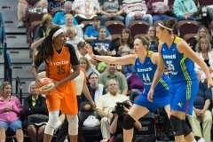 WNBA Connecticut Sun 107 vs Dallas Wings 74 (26)
