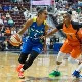 WNBA Connecticut Sun 107 vs Dallas Wings 74 (35)