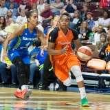 WNBA Connecticut Sun 107 vs Dallas Wings 74 (42)