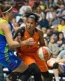 WNBA Connecticut Sun 107 vs Dallas Wings 74 (44)