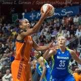 WNBA Connecticut Sun 107 vs Dallas Wings 74 (47)