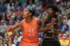 WNBA Connecticut Sun 65 vs. Seattle Storm 78 (23)