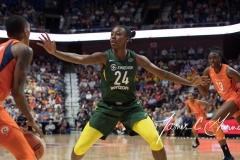 WNBA Connecticut Sun 65 vs. Seattle Storm 78 (25)