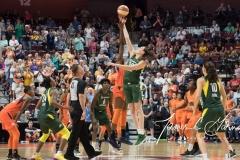 WNBA Connecticut Sun 65 vs. Seattle Storm 78 (4)