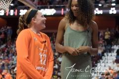 WNBA Connecticut Sun 65 vs. Seattle Storm 78 (40)