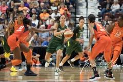 WNBA Connecticut Sun 65 vs. Seattle Storm 78 (42)