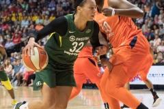 WNBA Connecticut Sun 65 vs. Seattle Storm 78 (44)