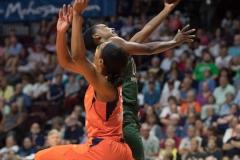 WNBA Connecticut Sun 65 vs. Seattle Storm 78 (46)