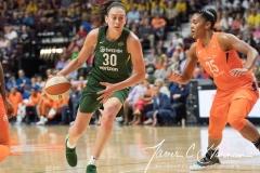 WNBA Connecticut Sun 65 vs. Seattle Storm 78 (48)