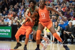 WNBA Connecticut Sun 65 vs. Seattle Storm 78 (50)