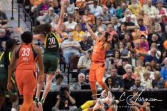 WNBA Connecticut Sun 65 vs. Seattle Storm 78 (54)