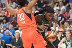 WNBA Connecticut Sun 65 vs. Seattle Storm 78 (57)