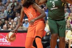 WNBA Connecticut Sun 65 vs. Seattle Storm 78 (58)