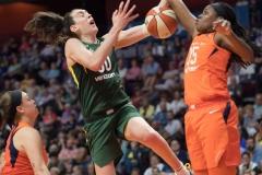WNBA Connecticut Sun 65 vs. Seattle Storm 78 (60)