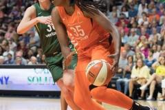 WNBA Connecticut Sun 65 vs. Seattle Storm 78 (63)