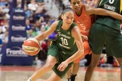 WNBA Connecticut Sun 65 vs. Seattle Storm 78 (64)
