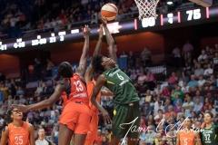 WNBA Connecticut Sun 65 vs. Seattle Storm 78 (72)