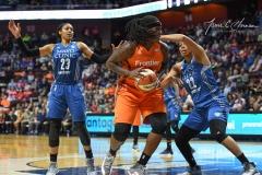 WNBA - Connecticut Sun 68 vs. Minnesota Lynx 82 (52)
