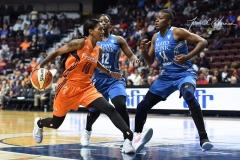 WNBA - Connecticut Sun 68 vs. Minnesota Lynx 82 (71)
