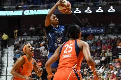 WNBA - Connecticut Sun 71 vs. Minnesota Lynx 74 (17)