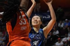 WNBA - Connecticut Sun 71 vs. Minnesota Lynx 74 (28)