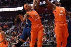 WNBA - Connecticut Sun 71 vs. Minnesota Lynx 74 (33)