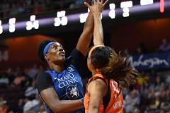 WNBA - Connecticut Sun 71 vs. Minnesota Lynx 74 (44)
