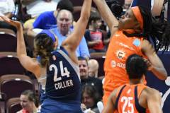 WNBA - Connecticut Sun 71 vs. Minnesota Lynx 74 (55)