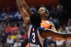 WNBA - Connecticut Sun 71 vs. Minnesota Lynx 74 (62)