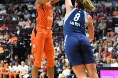 WNBA - Connecticut Sun 71 vs. Minnesota Lynx 74 (63)