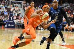 WNBA - Connecticut Sun 71 vs. Minnesota Lynx 74 (66)