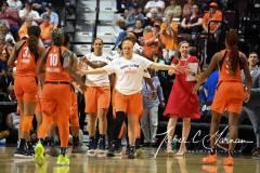 WNBA - Connecticut Sun 71 vs. Minnesota Lynx 74 (72)