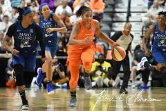WNBA - Connecticut Sun 71 vs. Minnesota Lynx 74 (77)