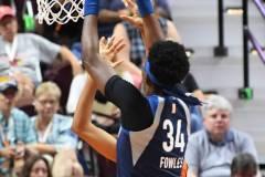 WNBA - Connecticut Sun 71 vs. Minnesota Lynx 74 (78)
