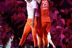 WNBA - Connecticut Sun 71 vs. Minnesota Lynx 74 (8)