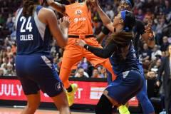WNBA - Connecticut Sun 71 vs. Minnesota Lynx 74 (95)