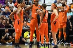 WNBA - Connecticut Sun 71 vs. Minnesota Lynx 74 (99)