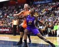 WNBA CT Sun 79 vs. LA Sparks 87 (48)