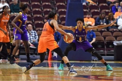 WNBA CT Sun 79 vs. LA Sparks 87 (57)
