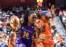 WNBA CT Sun 79 vs. LA Sparks 87 (62)