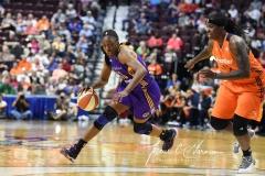 WNBA CT Sun 79 vs. LA Sparks 87 (66)