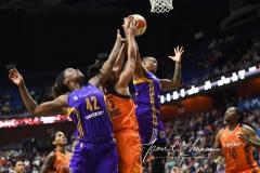 WNBA CT Sun 79 vs. LA Sparks 87 (67)