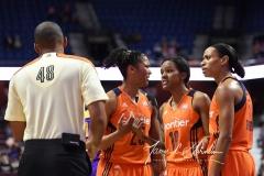 WNBA CT Sun 79 vs. LA Sparks 87 (68)