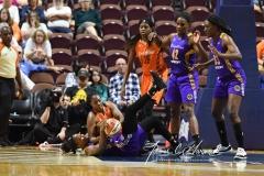 WNBA CT Sun 79 vs. LA Sparks 87 (72)