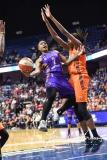 WNBA CT Sun 79 vs. LA Sparks 87 (77)