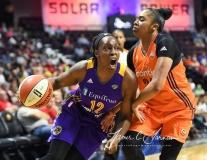 WNBA CT Sun 79 vs. LA Sparks 87 (79)