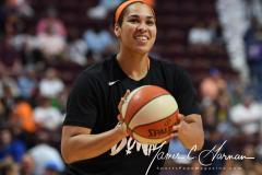 WNBA - Connecticut Sun 81 vs. Seattle Storm 67 (12)
