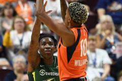 WNBA - Connecticut Sun 81 vs. Seattle Storm 67 (34)